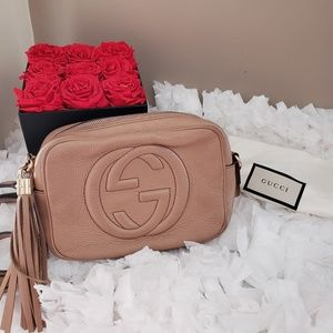❌SOLD❌ DO NOT PURCHASE Gucci Soho Nude Crossbody